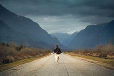 Elizabeth Gadd photography - seasons landscape shadow and light contrast shoot - run