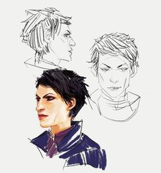 Cass sketches by spicyroll on DeviantArt