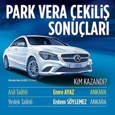 #ParkVera'da #Mercedes sahibini buldu! Kazanan talihliyi tebrik ediyoruz.