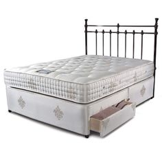 Sleepeezee Bordeaux 2000 3FT Single Divan Bed