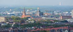 Nicht wirklich klares Wetter heute - trotzdem eine gute Aussicht vom Westnetz-Hochhaus (ehemals Telekom)  #Dortmund #DortmunderU