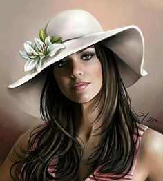 Fashion Figure Drawing, Artist Sketchbook, Fashion Figures, Digital Art Girl, Cute Hats, Beautiful Drawings, Disney Fan Art, Adult Coloring Pages, Female Characters