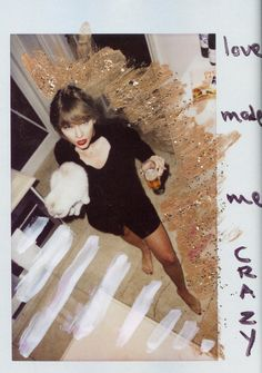 Pinterest: kgtopel Reputation. Taylor swift. Cat. Winter. Gold. Love made me crazy.
