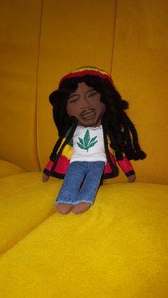#bobmarley #handmade #doll Bob Marley, Disney Characters, Fictional Characters, Dolls, Disney Princess, Handmade, Bob Morley, Hand Made, Puppet