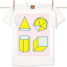 Study of Shapes Tee by Stu Ross for Super Superficial