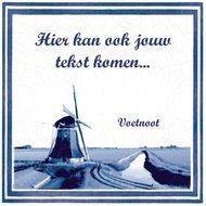 Tegeltje bedrukken bij www.prachtigkado.nl