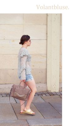 Outfit: Volant-Feeling | BILDHÜBSCH