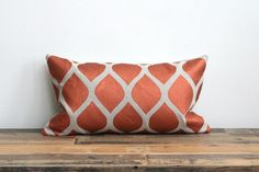 Aya lumbar pillow cover hand printed in by ChaneeVijayTextiles, $70.00