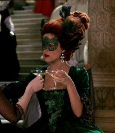 Rose Byrne as the Duchesse de Polignac in the Masquerade Ball scene of 'Marie Antoinette' (2006).