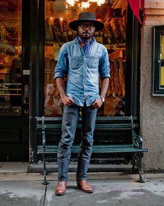 Ben Ferrari's New York Street Style - Best Dressed Men in NYC: Style: GQ