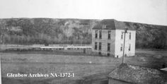 Title: Isolation hospital, Calgary, Alberta. Date: 1905 Remarks: Located 13th Avenue and 6th Street SE, built in 1905.