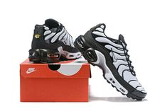 07d3f00bda Mens Summer Shoes Nike Air Max Plus TN Black White #Nike #CrossTrainingShoes