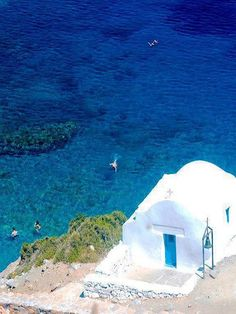 "Agia Anna - Amorgos Island (Cyclades), Greece In Maeve Binchy's novel ""Night of Rain and Stars"" Oh The Places You'll Go, Places To Travel, Places To Visit, Beautiful Islands, Beautiful World, Santorini, Wonderful Places, Beautiful Places, Zakynthos"