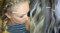 DIY Hair Toner : How to fix brassy hair REALY WORKS GOOD !!