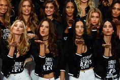 Comienza el show de Victoria's Secret en París