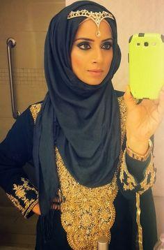 hijab+styles+for+wedding