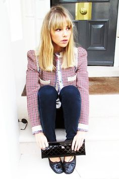 Suki Waterhouse - Today I'm Wearing - Day 11