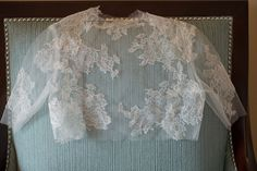 Eliza bridal french lace and tulle bolero by girlwithseriousdream
