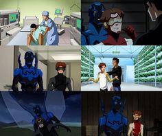 Season 2 Episode 12 True Colors: Impulse/Bart Allen: Blue Beetle/Jamie Reyes
