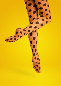 Big Dot Tights by happysocks: Designed in Sweden. Also available in mint and orange,