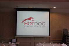 A Hotdog screen installation