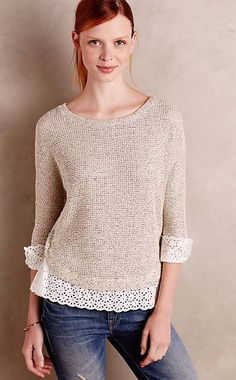 Nolina Pullover #anthrofave