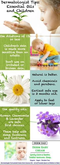 Pro Tips from the dermatologist founder of www.DermDad.com -- Simplifying the powerful benefits of Natural Essential Oils formulated in an Organic Coconut Oil based cream -- Learn more about how we help support needy orphans through Save the Children. Every child deserves hope. Have feedback for us - we'd love to hear from you!!!