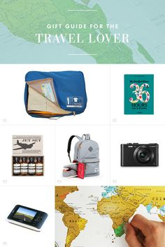 Gift Guide for the Travel Lover /