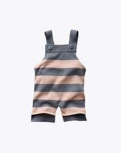 Striped baby jumpsuit. Stella McCartney.