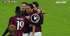 MILAN-FIORENTINA 2-0 Highlights HD - Serie A 2015/16 1ª GIORNATA DI RITORNO - VIDEO FOR ALL