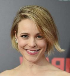 Pin for Later: Your Ultimate Guide to the Bob: Long, Short, or in Between Rachel McAdams Short Hairstyles 2015, Best Bob Haircuts, Bob Hairstyles, Rachel Mcadams Hair, Fall Hair Cuts, Salon Style, Long Bob, Hair Today, Hair Type