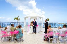 We love helping couples plan their destination wedding! Congrats to Melanie and Chris who got married at Dreams Sugar Bay St Thomas! Photo Credit: Crown Images