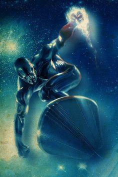 comicbookartwork:    The Silver Surfer