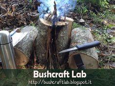Bushcraft Lab Italia: Come realizzare la torcia svedese
