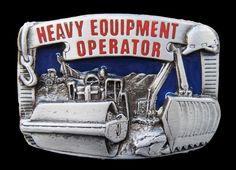 Construction Heavy Machinery Equipment Bulldozer Belt Buckle Boucle de Ceinture #heavyequipment #equipmentoperator #constructionworker #beltbuckle #buckle