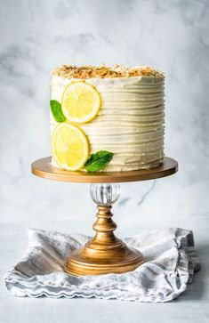 This Lemon Coconut Layer Cake is fancy, elegant, and will impress your guests. I can't say this is an easy cake to make, but the results sure are rewarding. In this post, I also talk about the differences between Italian, Swiss, and French meringue buttercream.