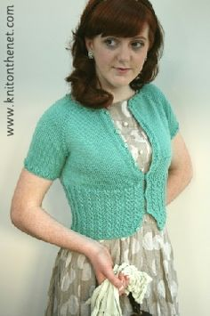 Peggy Sue sweater knitting pattern  - I kind of want to learn how to knit :)