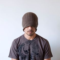 Knit Mens Hat Reflect Bravo by @Jerome Sevilla on Etsy #SFEtsyHalloween