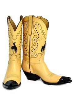 Caiman Buckaroo Inlay - Handmade Cowboy Boots from Liberty Boot Co