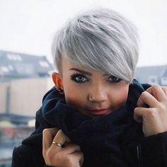 Today we have the most stylish 86 Cute Short Pixie Haircuts. We claim that you have never seen such elegant and eye-catching short hairstyles before. Pixie haircut, of course, offers a lot of options for the hair of the ladies'… Continue Reading → Short Pixie Haircuts, Pixie Hairstyles, Short Hair Cuts, Cool Hairstyles, Hairstyle Ideas, Hair Ideas, 2017 Hairstyle, Long Haircuts, Style Hairstyle