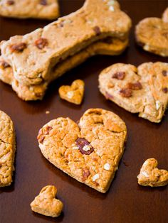 These Peanut Butter Bacon Treats are perfect for your pup.