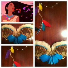 .@electriclaundry | #pocahontas #disney #princess #halloween #costume #electriclaundry #feathers... | Webstagram - the best Instagram viewer
