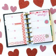 I'm using a MINI Happy Planner as my personal planner this year. I love that this planner is small enough that I can throw it in my purse. I also love that my personal tasks aren't lost…