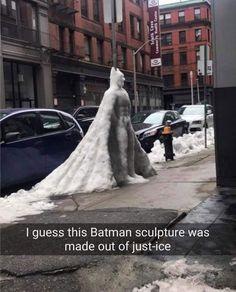 Snowy Batman