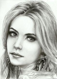 Ashley Benson | *** Stars Pencil Art Work *** | Pinterest ...