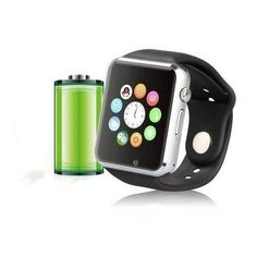 Smart Watch Cell Phone iPhone Android Smartphones Camera Bluetooth Silver New #SmartWristWatch