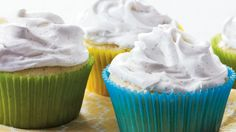 Treat your guests with these tasty vanilla bean cupcakes - a perfect baked dessert.