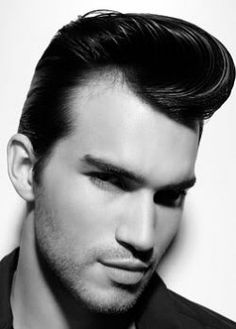 This actually isn't a wig at all, but I am in the market for a pompadour wig that is NOT a shitty Elvis costume wig. I had no idea that REAL men's fashion wigs in specific styles were so hard to come by.