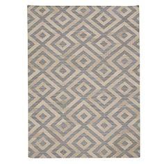 Ręcznie tkany dywan Luisa Blue/Natural, 155x240 cm | Bonami