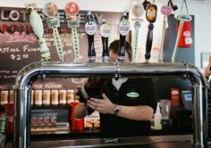 Genesee Brew House Growler Fill Station